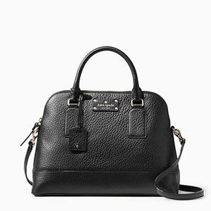 NEW Kate Spade Black Hand Bag with Strap Purse